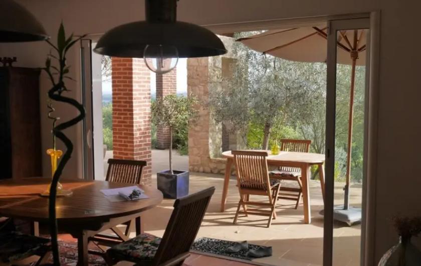 Location de vacances - Villa à Castin - Dehors/Dedans