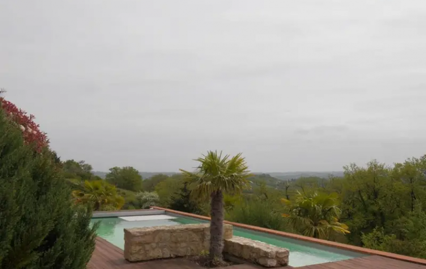 Location de vacances - Villa à Castin - Piscine