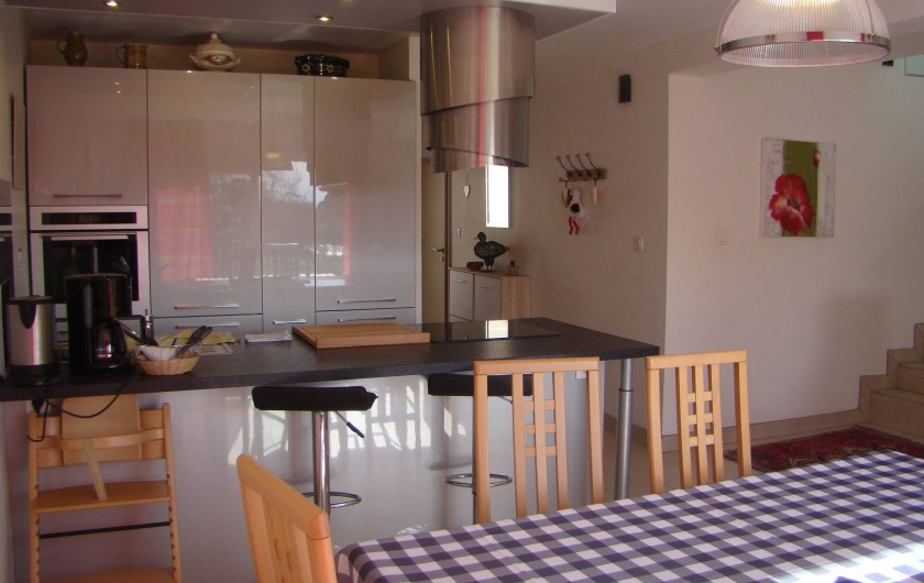 Location de vacances - Gîte à Kintzheim - Cuisine