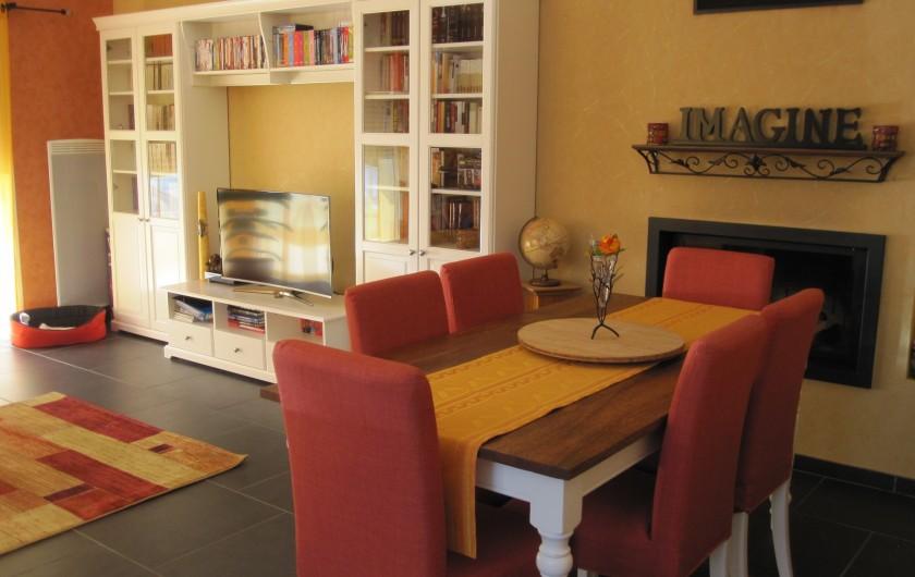 Location de vacances - Chambre d'hôtes à Soulac-sur-Mer - Soulac'Ouette - salon/salle à manger
