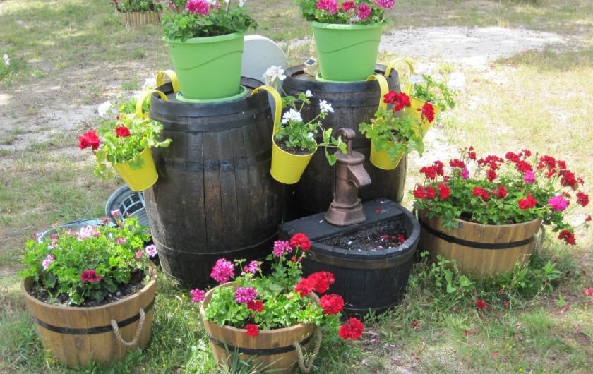 Location de vacances - Chambre d'hôtes à Soulac-sur-Mer - Soulac'Ouette - Barriques en fleurs