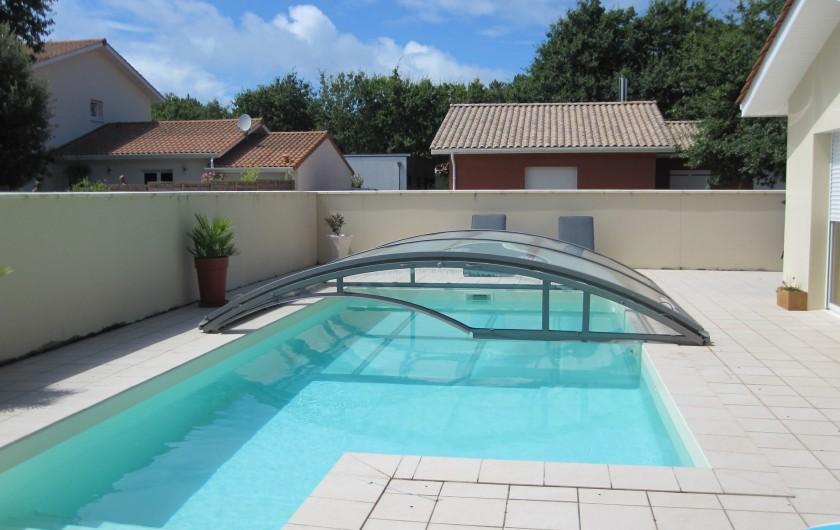 Location de vacances - Chambre d'hôtes à Soulac-sur-Mer - Soulac'Ouette - Piscine semi-couverte