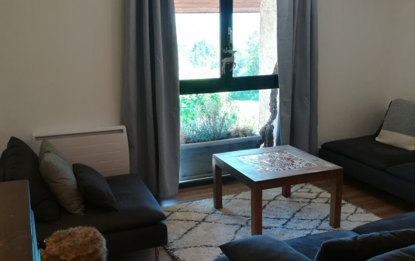 Location de vacances - Appartement à Charvonnex - coin salon