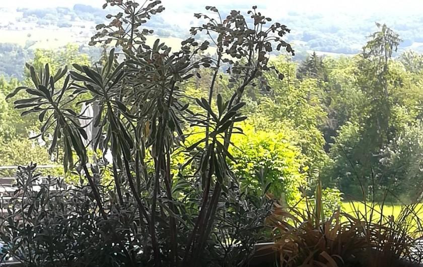 Location de vacances - Appartement à Charvonnex - vue du salon