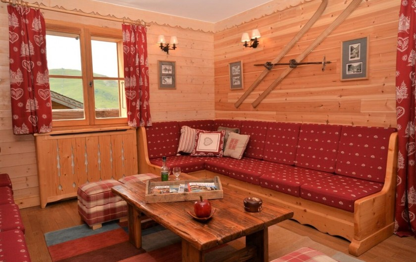 Location de vacances - Chalet à L'Alpe d'Huez - Salon