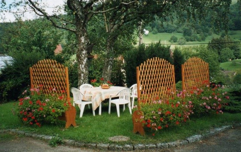 Location de vacances - Gîte à Sondernach - Terrasse