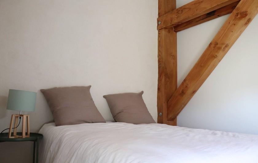 Location de vacances - Gîte à Béziers - Chambre 1, lit 2 places