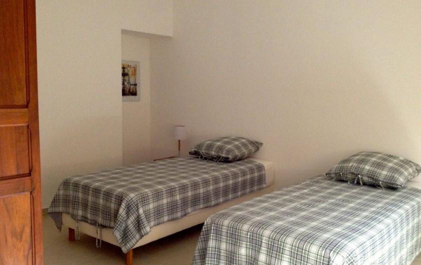 Location de vacances - Gîte à Sainte-Anastasie - Chambre Domitia
