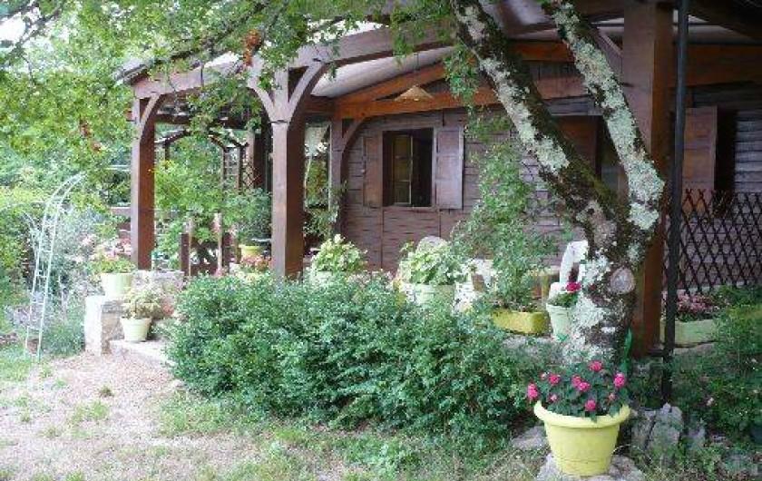 Location de vacances - Chalet à Cabrerets