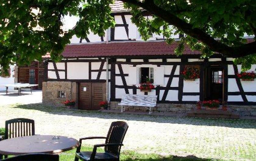Location de vacances - Gîte à Hunspach