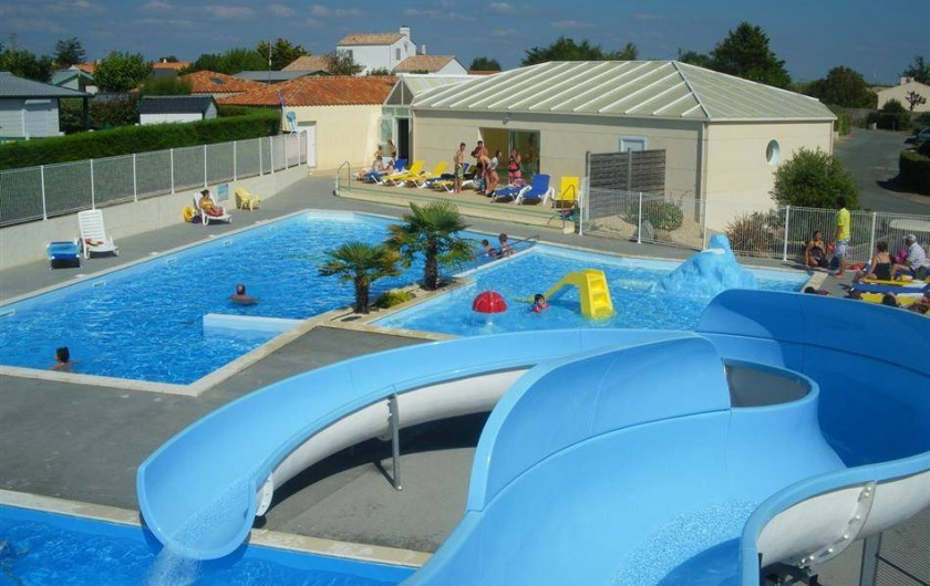 Location de vacances - Camping à Brem-sur-Mer - Espace Aquatique