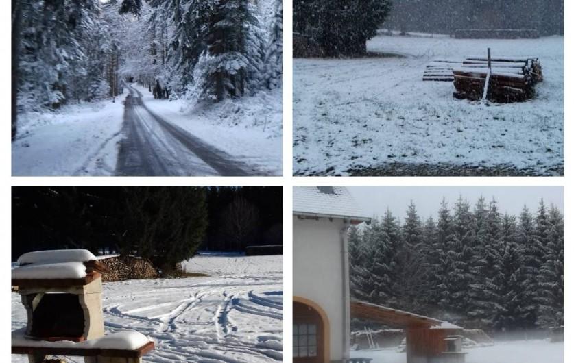 Location de vacances - Appartement à Corcieux - hiver