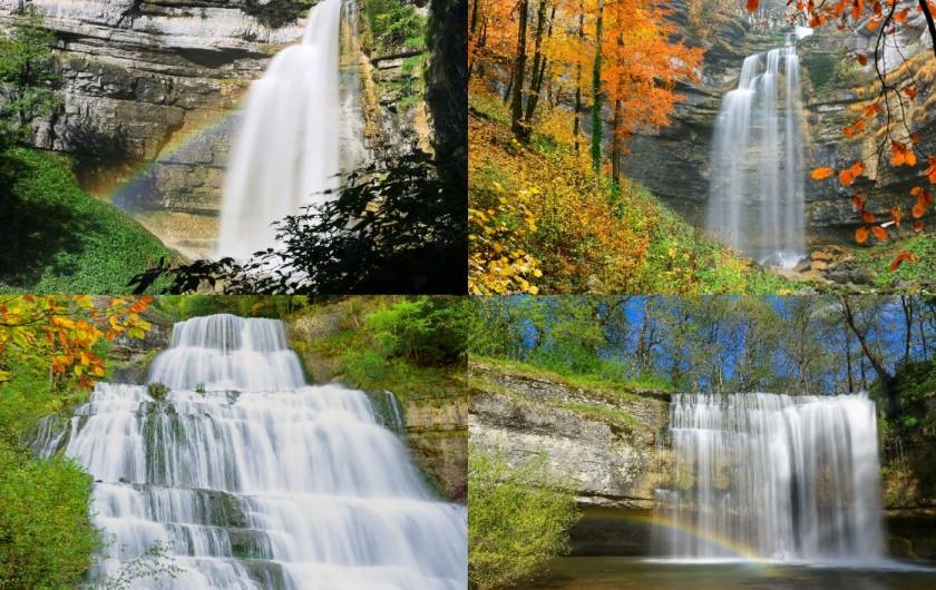 Location de vacances - Chalet à Prémanon - les cascades du hérisson