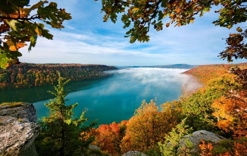 Location de vacances - Chalet à Prémanon - lac de Chalain, un lac parmi les milles lacs du JURA