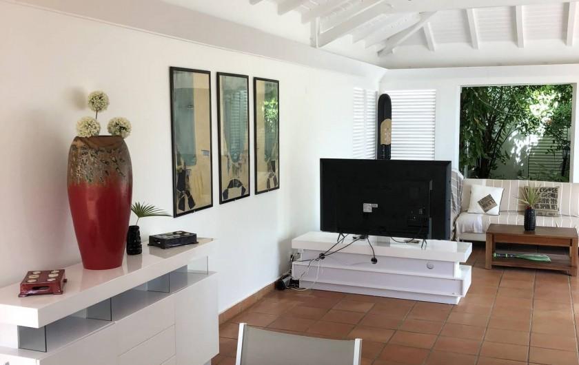 Location de vacances - Villa à Saint-François - salon
