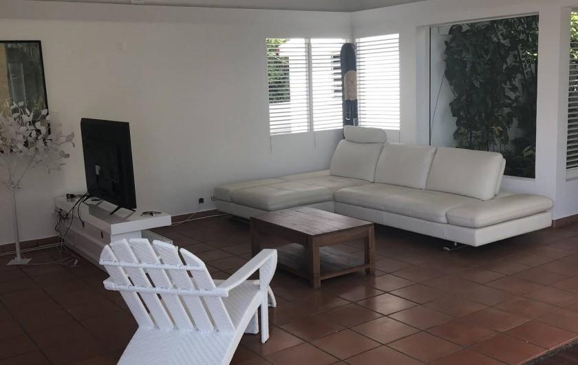 Location de vacances - Villa à Saint-François - sa:lon tv
