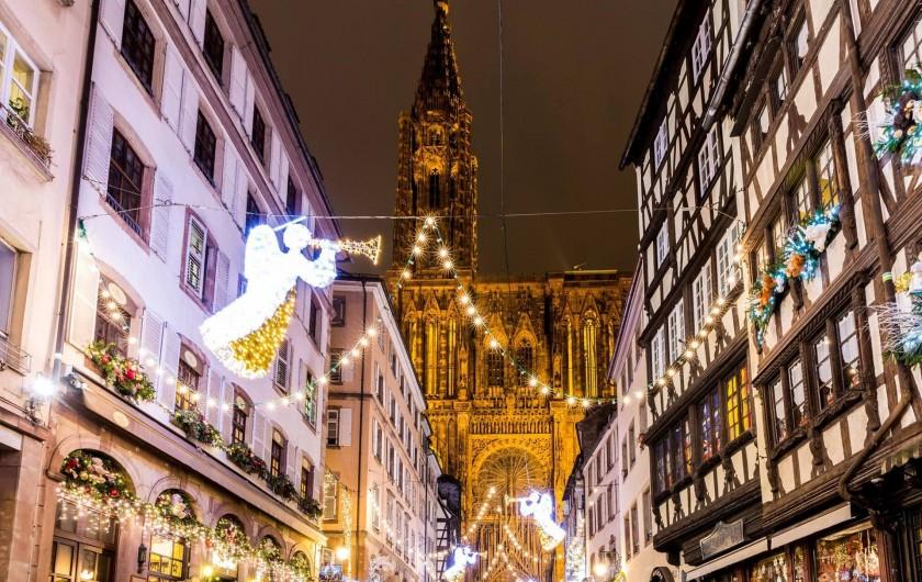 Location de vacances - Maison - Villa à Rosheim - Marché de Noël à Strasbourg, à 30km de Rosheim.