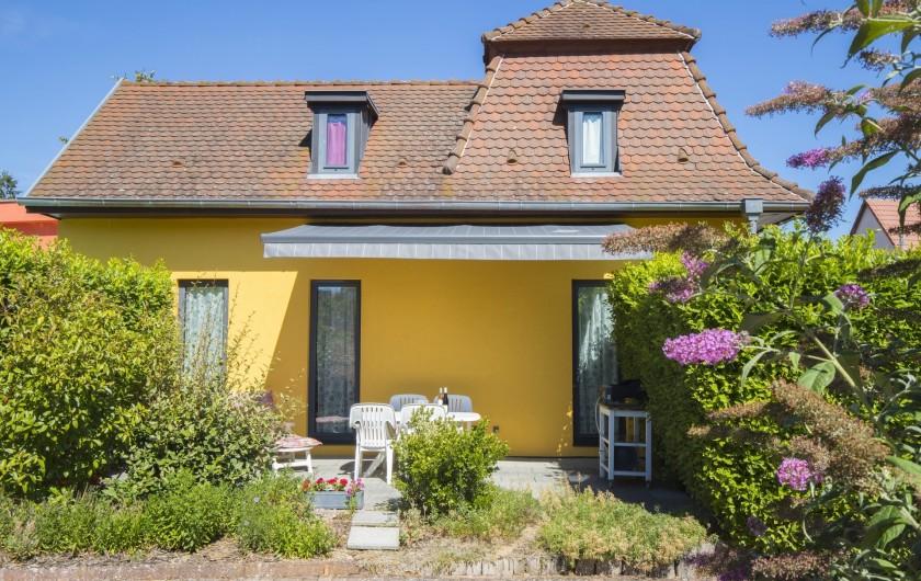 Location de vacances - Maison - Villa à Rosheim - Les Bains de Rosheim, gîte 3 étoiles avec terrasse privée et verdoyante!