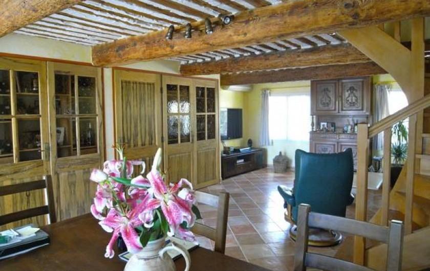 Location de vacances - Gîte à Caumont-sur-Durance - Séjour