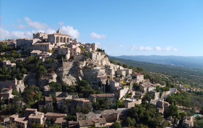 Location de vacances - Gîte à Caumont-sur-Durance - Village perché de Gordes