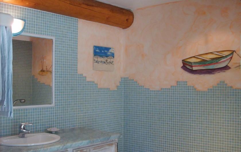 Location de vacances - Gîte à Caumont-sur-Durance - Salle de bain
