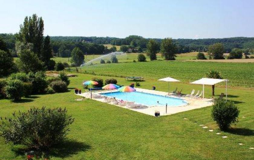 Location de vacances - Gîte à Roquecor - La Grande Piscine 12 x 6 m