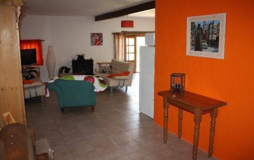 Location de vacances - Gîte à Roquecor - Intérieur du Gîte Tom