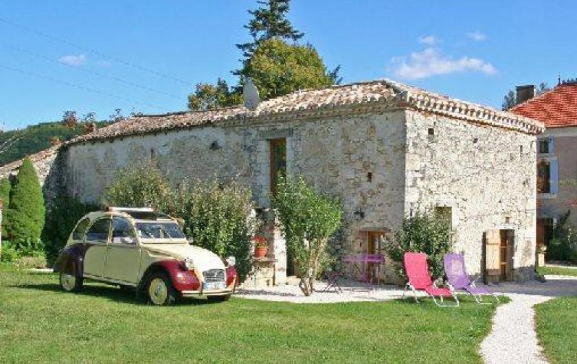 Location de vacances - Gîte à Roquecor - Le Gîte Isabelle pour 2 personnes