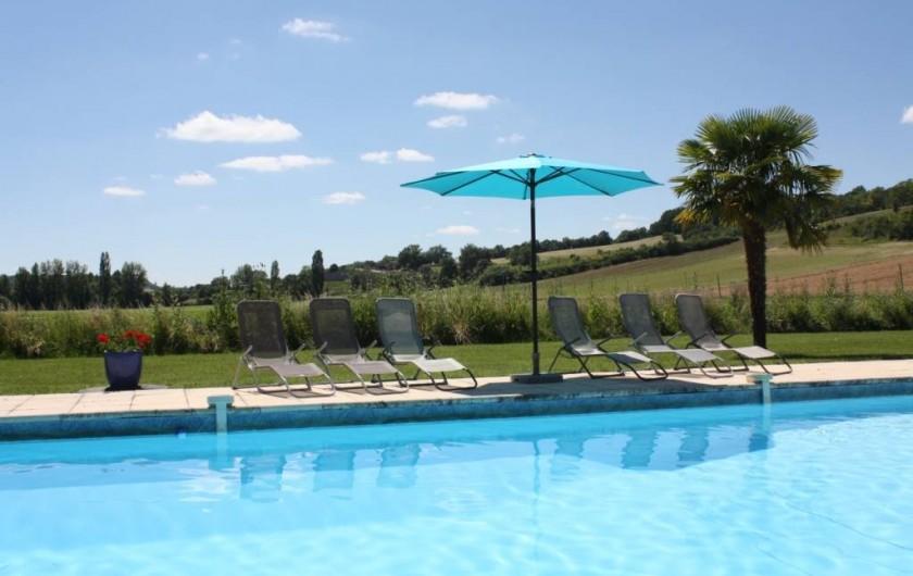 Location de vacances - Gîte à Roquecor - La Jolie Piscine des Gîtes Grand Pré !