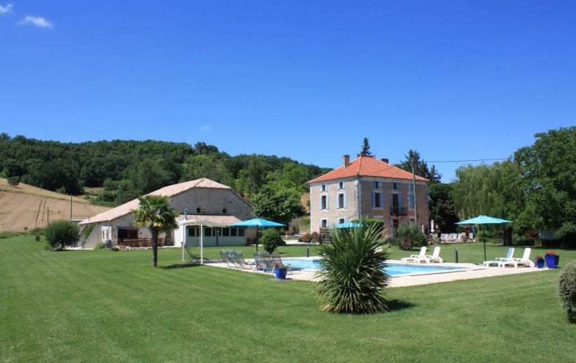 Location de vacances - Gîte à Roquecor - Les Gîtes Grand Pré ! et La Roulotte de Roquecor
