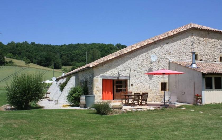 Location de vacances - Gîte à Roquecor - Le Gîte Tom pour 4/5 personnes