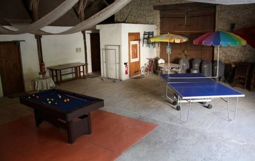 Location de vacances - Gîte à Roquecor - Grange Gîtes Grand Pré