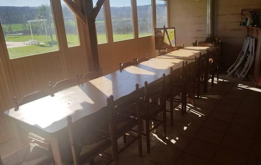 Location de vacances - Gîte à Roquecor - Salle à Manger Commune Gîtes Grand Pré ! France
