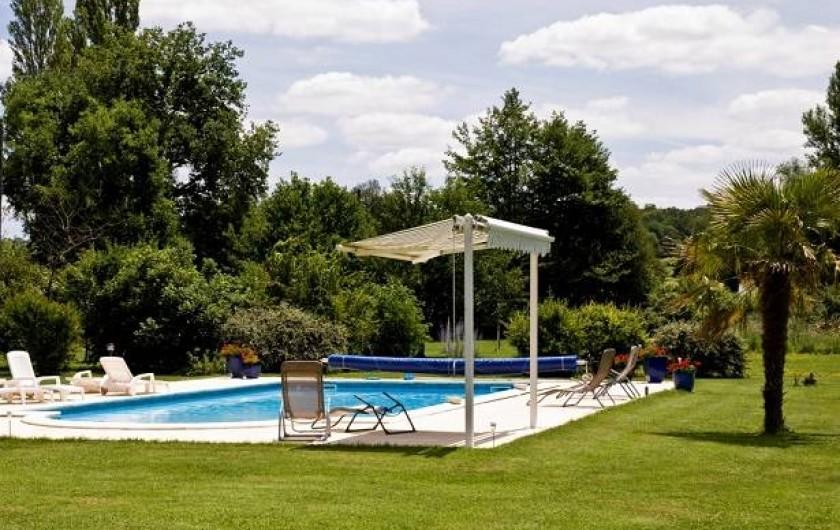 Location de vacances - Gîte à Roquecor - Piscine Gîtes Grand Pré à Roquecor - South West of France