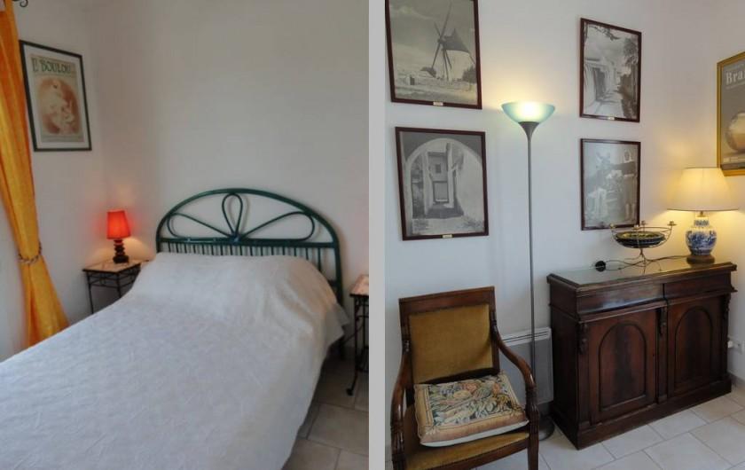 Location de vacances - Villa à Sainte-Marie-de-Ré - chambre