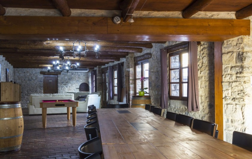 Location de vacances - Gîte à Seynes - SALLE A MANGER
