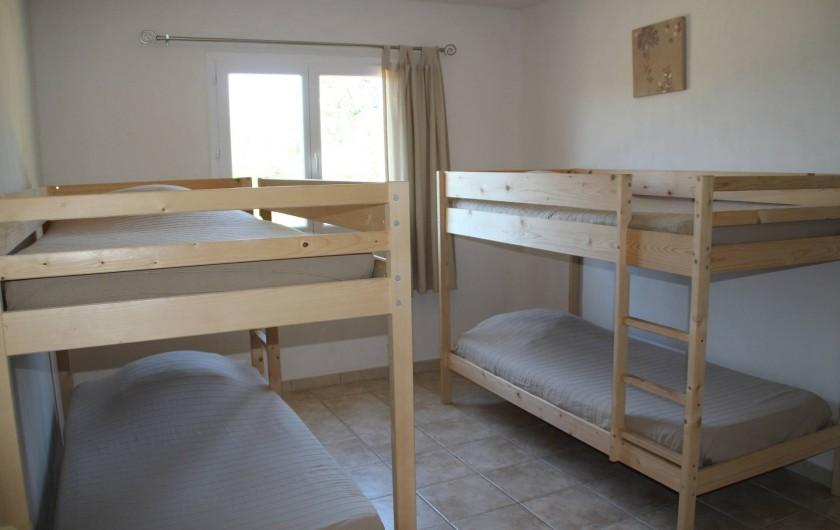 Location de vacances - Villa à Sainte-Lucie de Porto-Vecchio - CHAMBRE 5