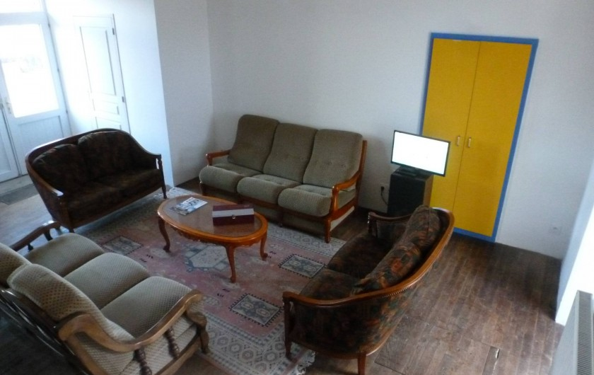 Location de vacances - Gîte à La Chapelle-Largeau - Gîte N°2 ALLOUETTES vue du salon
