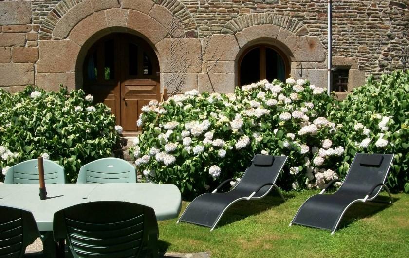 Location de vacances - Maison - Villa à Pontorson - Jardin privatif