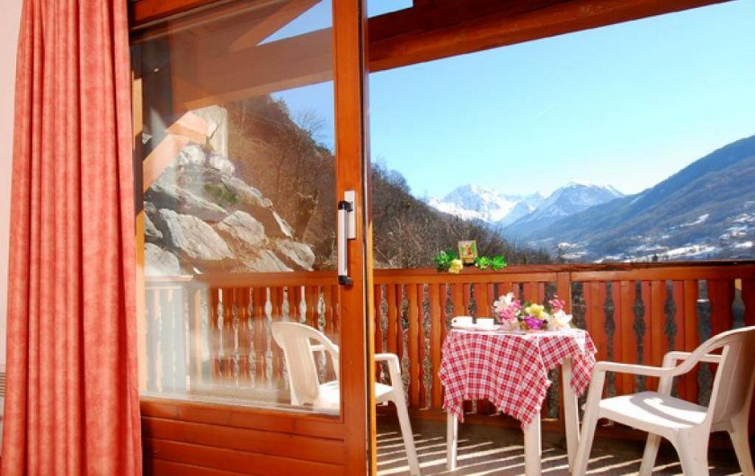 Location de vacances - Appartement à Brides-les-Bains - Chambre / Lits - Studio avec Balcon