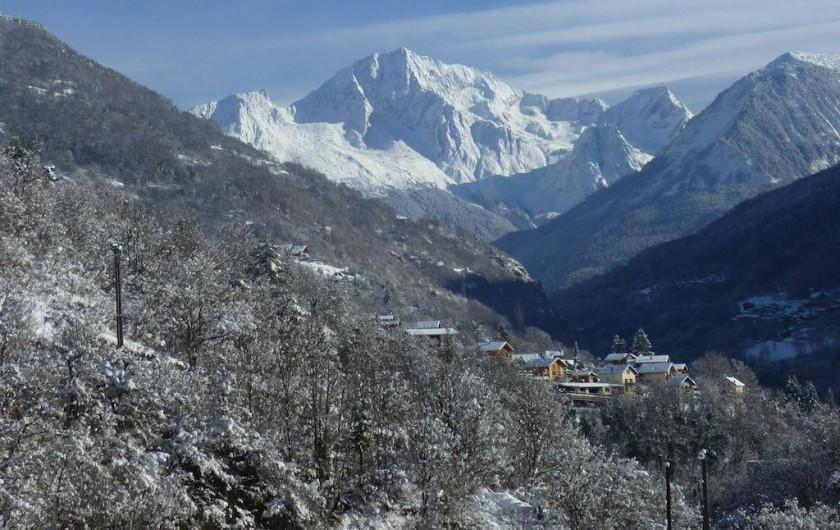 Location de vacances - Appartement à Brides-les-Bains - Résidence la Rochetaillée - Vue