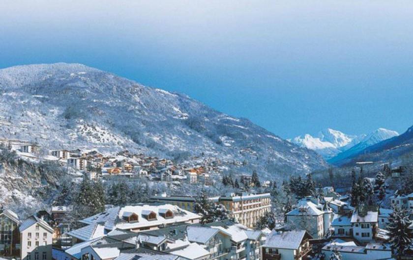 Location de vacances - Appartement à Brides-les-Bains - Vue - Résidence la Rochetaillée - Vue Brides