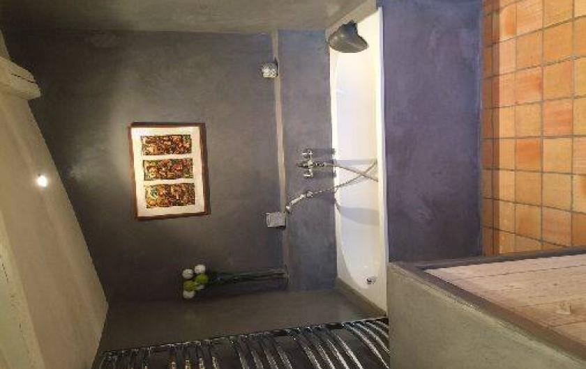 Location de vacances - Chambre d'hôtes à Sainte-Florence - SDB REZ DE CHAUSSEE