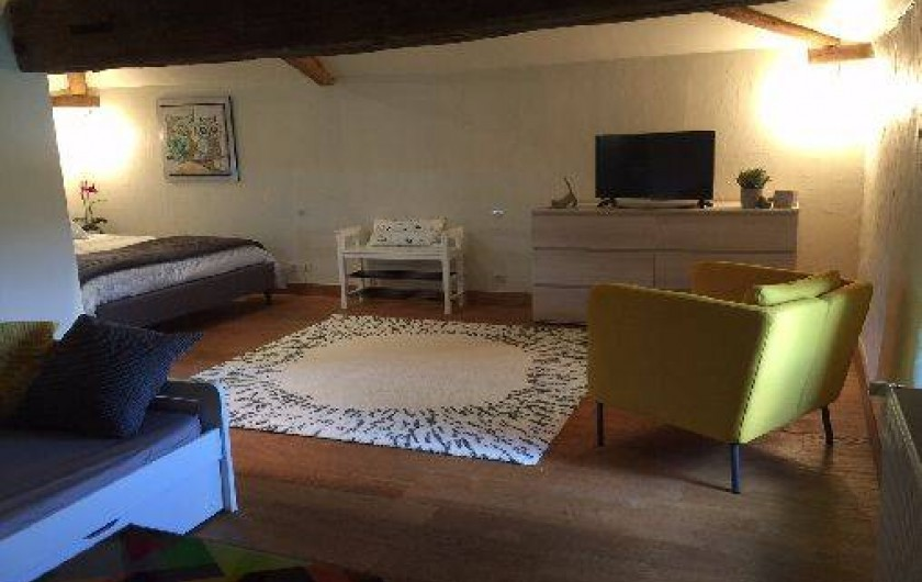 Location de vacances - Chambre d'hôtes à Sainte-Florence - CHAMBRE FAMILIALE 4 PERSONNES ETAGE