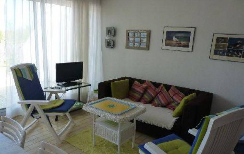 Location de vacances - Appartement à La Turballe - Coin détente
