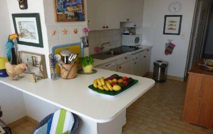 Location de vacances - Appartement à La Turballe - Coin cuisine