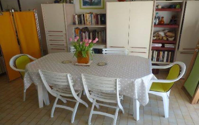 Location de vacances - Appartement à La Turballe - Coin repas
