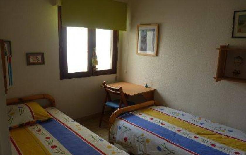Location de vacances - Appartement à La Turballe - Chambre deux lits