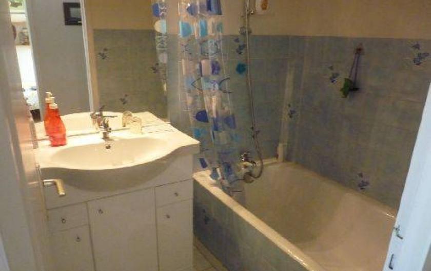 Location de vacances - Appartement à La Turballe - Salle de bains