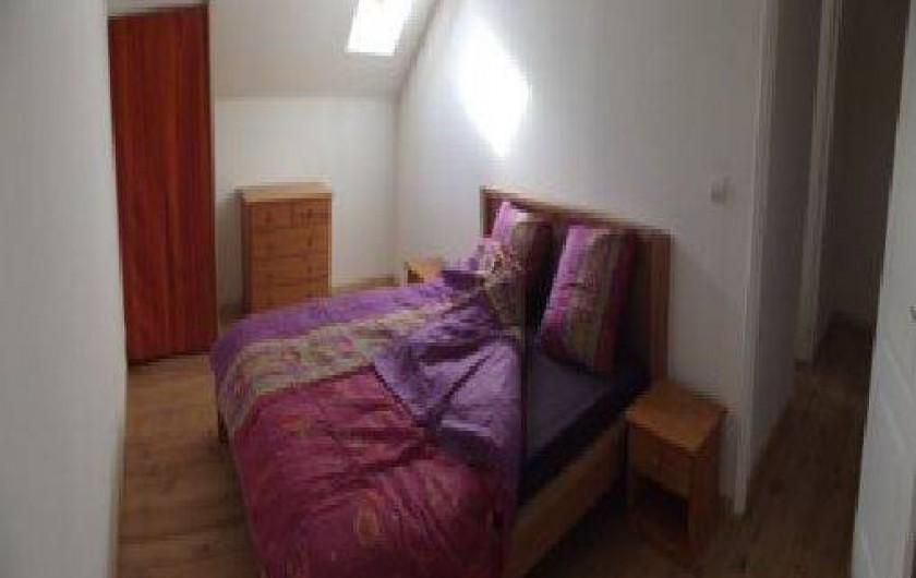 Location de vacances - Gîte à Champagnac - chambre adulte